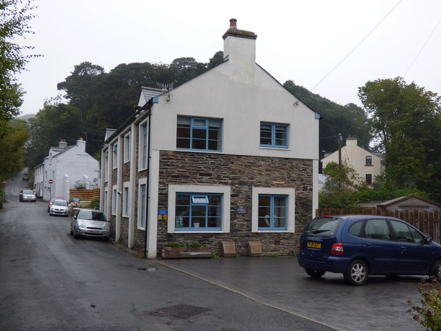 Laxey:  Salmon River Apartments