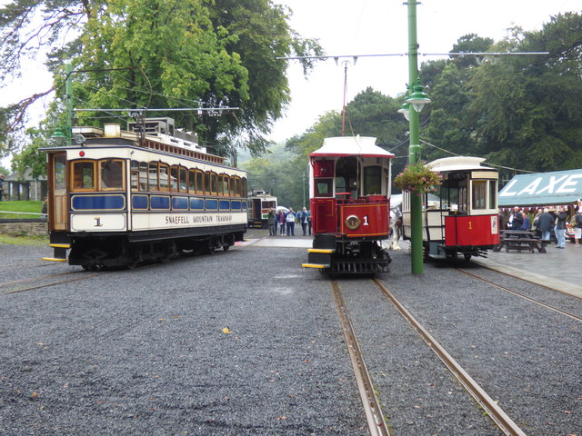 Three 'number ones' at Laxey station