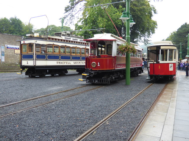 Three 'number ones' at Laxey