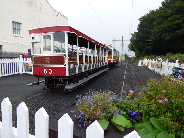 Manx Electric Railway trailer No 60 at Ramsey