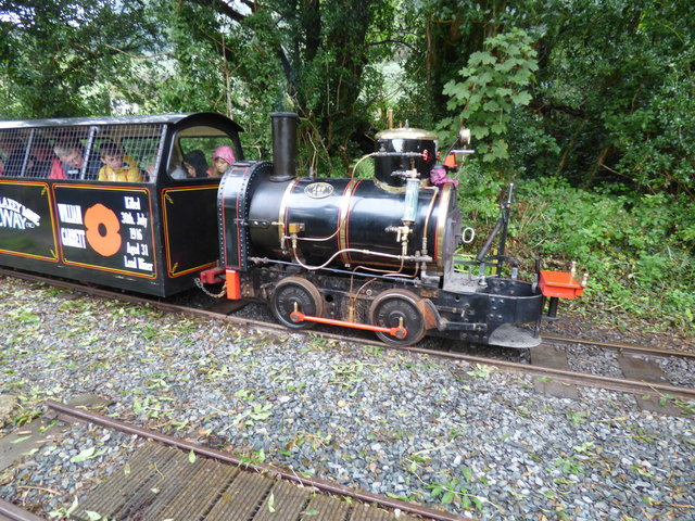 Loco of the Great Snaefell Mines railway