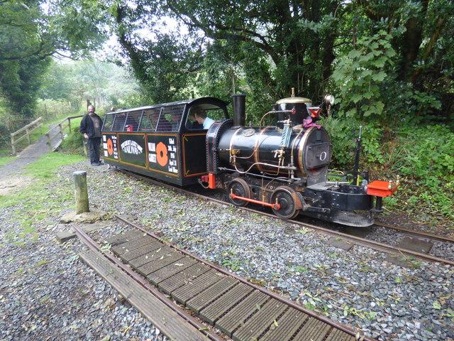 Mines Railway train