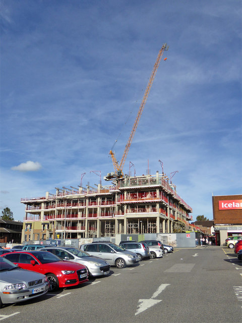 Redevelopment of Martells site, East Grinstead