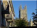 SO8318 : View of the tower of Gloucester Cathedral by Philip Halling