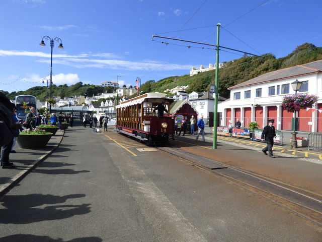 Derby Castle station, Manx Electric Railway