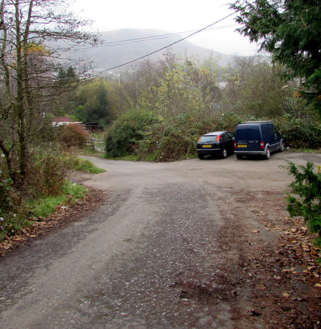 Parking area, Office Row, Penrhiwfer