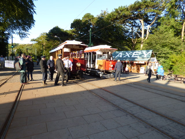 Cars 14 and 16 at Laxey