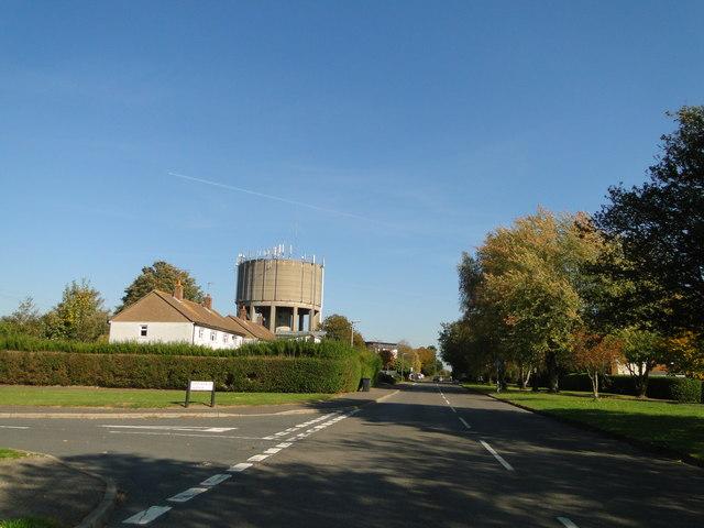 Fakenham water tower