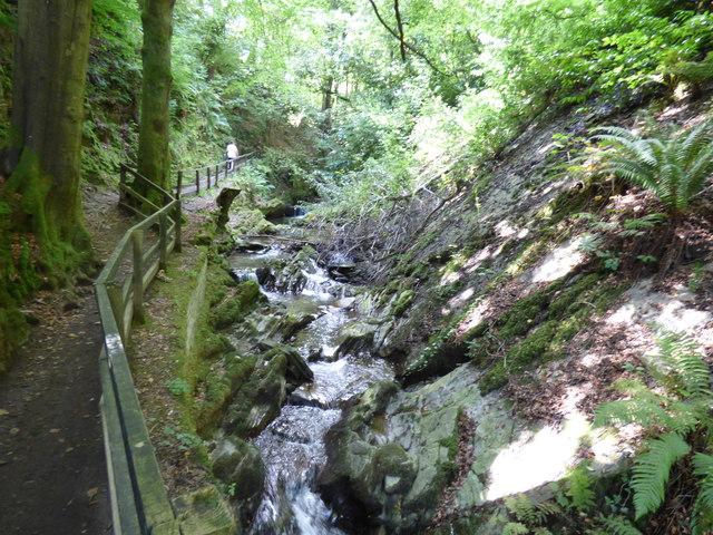 View in Groudle Glen