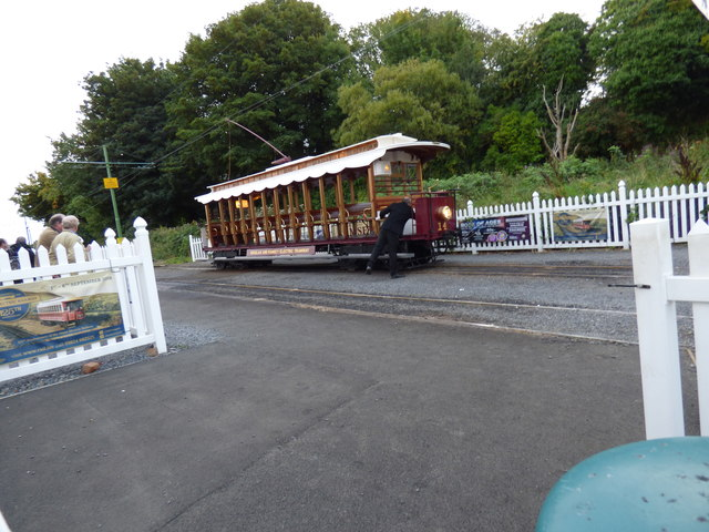 Car No 14 at Ramsey