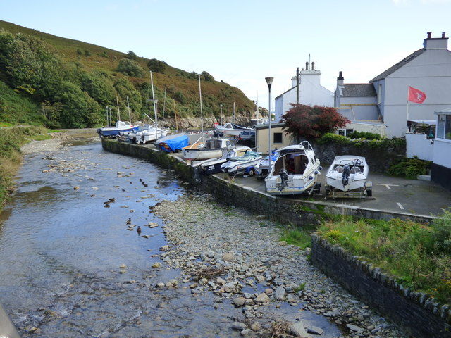 Laxey, Inner harbour