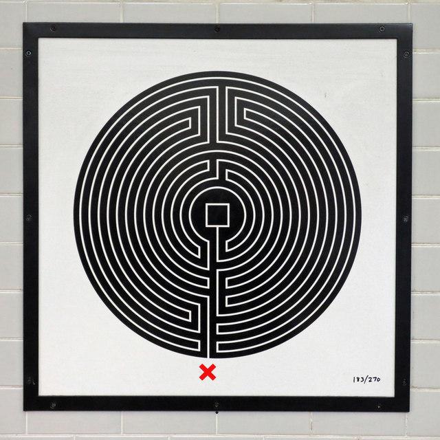 Hendon Central tube station - Labyrinth 183