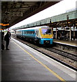 ST1875 : Arriva Trains Wales Class 175 in Cardiff Central station by Jaggery