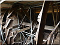 NY4756 : Warwick Bridge Mill - waterwheel by Chris Allen