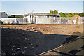 NY5129 : Cleared ground at demolished gasworks by Rose and Trev Clough