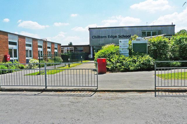 Chiltern Edge School, main entrance