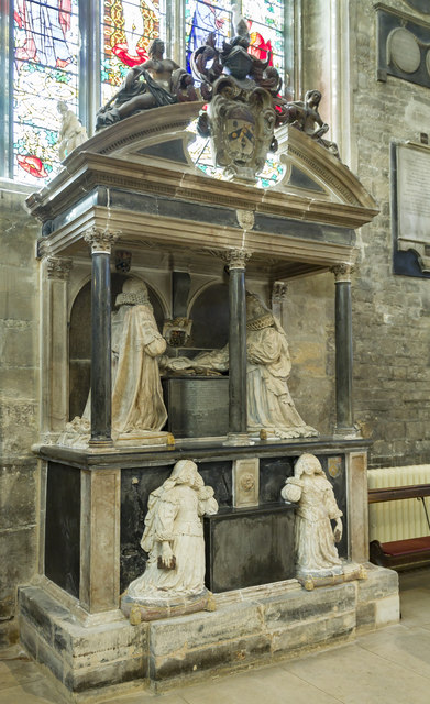 Monox Monument, St John the Baptist church, Cirencester