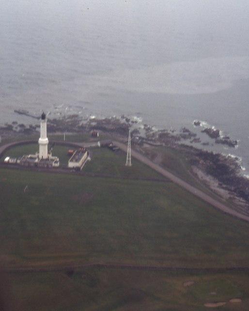 Girdle Ness Lighthouse, Aberdeen (1982)