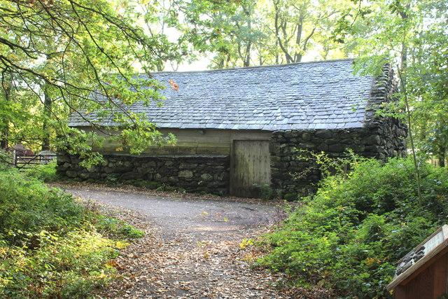 Hendre-wen barn, St Fagans National History Museum