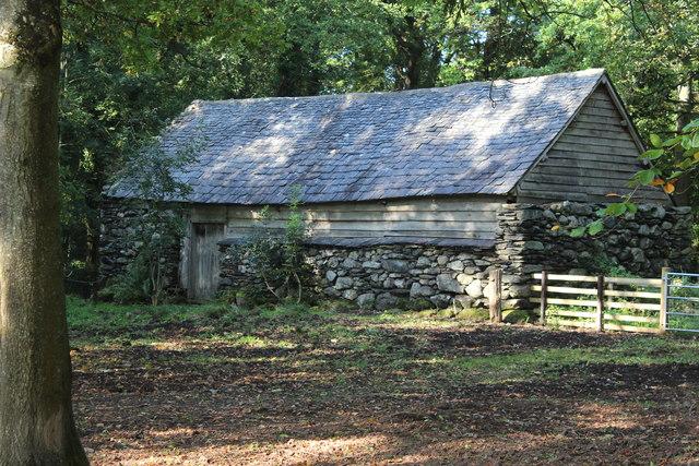 Hendre-wen barn (2), St Fagans N H Museum