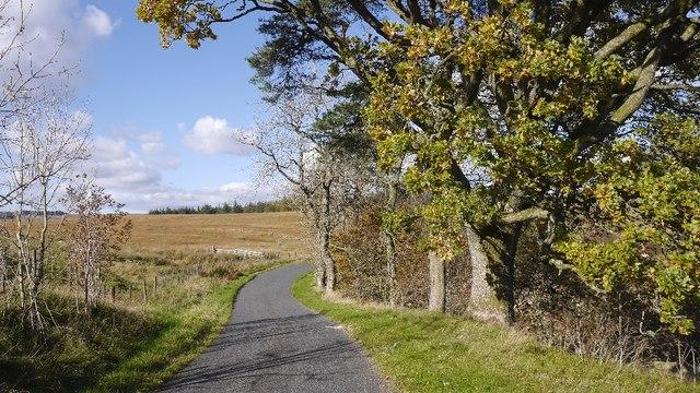 Corsock to Moniaive road