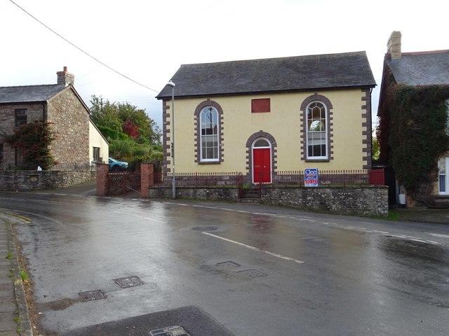 Former chapel in Llangors
