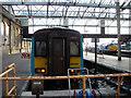 NY4055 : At the buffer stops at Carlisle by John Lucas