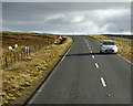 HU4374 : A968 near Firth by David Dixon