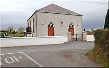 J2333 : Clonduff Presbyterian Church, Bannfield Road, Ballynagappoge by Eric Jones