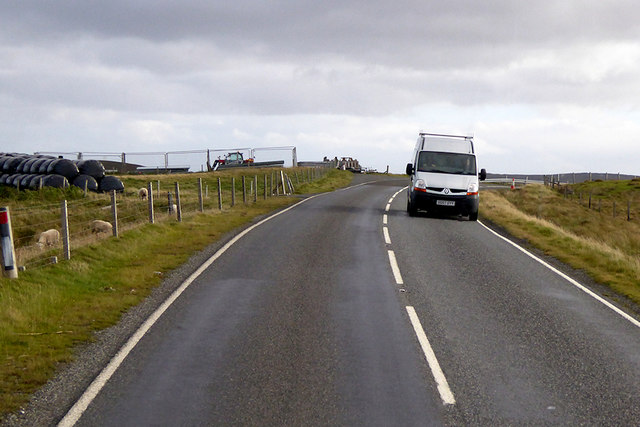 A968 Road Southbound