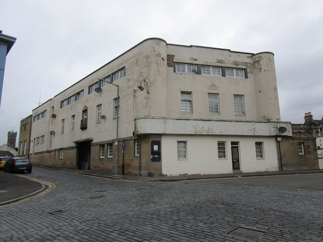 Rear of former municipal gas showrooms