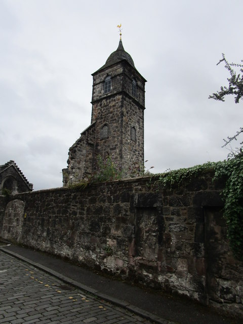 Old St. Mungo's church, Alloa