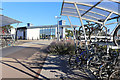 SP5011 : Cycle Racks at the Station by Des Blenkinsopp