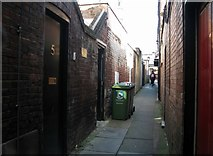 TG5207 : Great Yarmouth's Rows - Row 75 (Poppy's Row) by Evelyn Simak