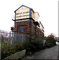 SJ0081 : Grade II listed Rhyl No. 2 signalbox by Jaggery