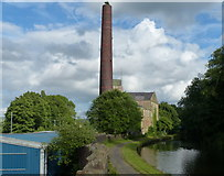 SD8432 : Finsley Mill on the Leeds and Liverpool Canal by Mat Fascione