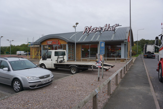 Pizza Hut Doncaster Road Scunthorpe Ian S Geograph