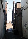 TG5207 : Great Yarmouth's Rows - Row 81 (Crome's Row) by Evelyn Simak