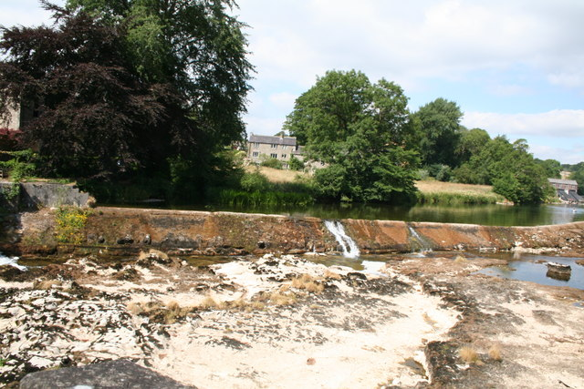 Linton:  Lower weir in drought