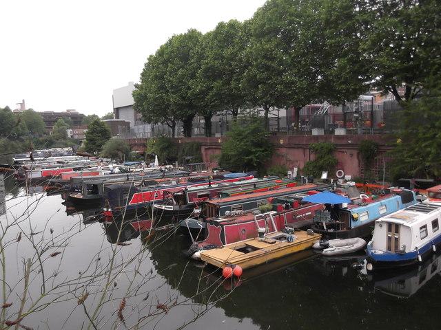 Regent's Canal barges