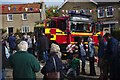 SK9924 : Fire Engine at the Sheep Fair by Bob Harvey
