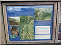 SO6199 : National Trust Information Board at Wenlock Edge (2) by David Hillas