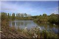 TQ3568 : South Norwood Country Park lake : Week 42