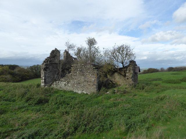 Ruined barn at Pentre-Cwm