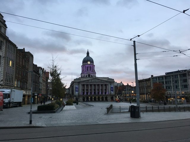 Nottingham Council House and Old Market Square