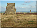NY8053 : The Allendale lead smelting flue chimneys by Mike Quinn