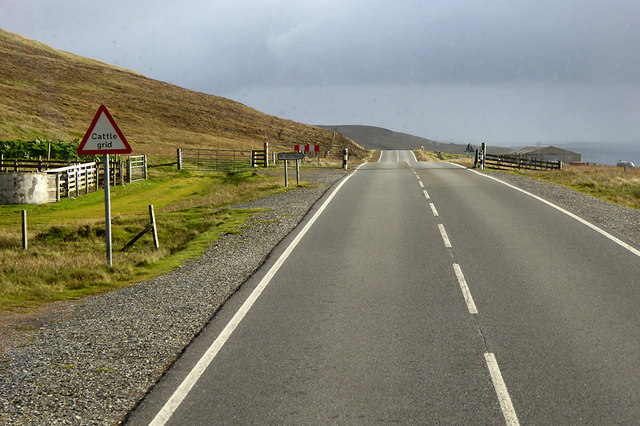 Cattle Grid on the A968