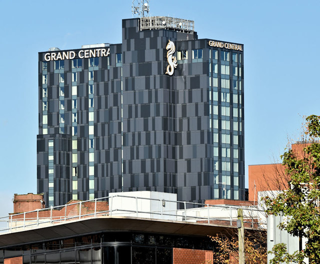 The Grand Central Hotel, Belfast (October 2018)