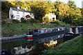 SO8583 : Cottages above the Staffordshire & Worcestershire Canal by Bill Boaden