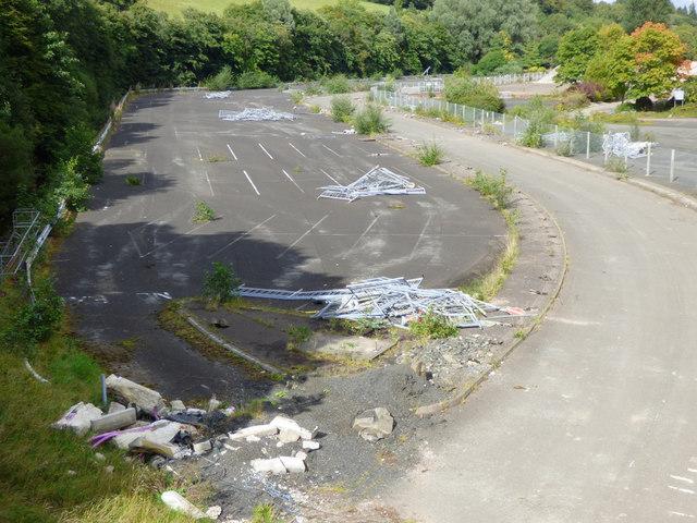 Site of IBM Greenock factory